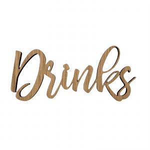 Drinks - traeskile - dansk design - wurtz design - barudstyr - hjemmebaren - skilte