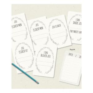 Milestone Cards - ekstra kort - mouse and pen