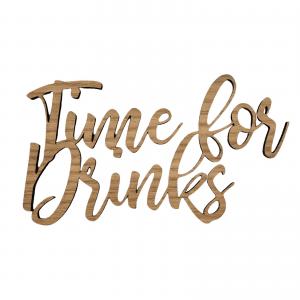 Time for drinks - wurtz design - hjemmebaren - dansk design - indretning - skilte