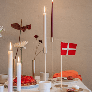 high light - lysestager - messing lysestage - 55 north - foedselsdagsflag - bordflag - dansk design - modernhouse